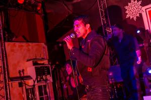 Giju John performing Mas Bhangraton